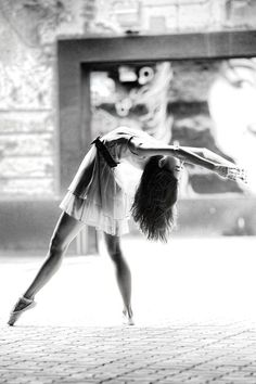 #black and white #ballet
