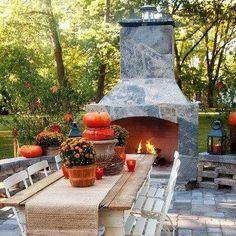 Amazing outdoor entertaining area