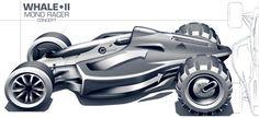Random Automotive Sketches by William Lee, via Behance