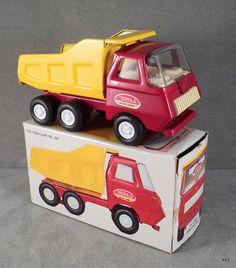 1970s Tiny Tonka Dump Truck, Original Box #535