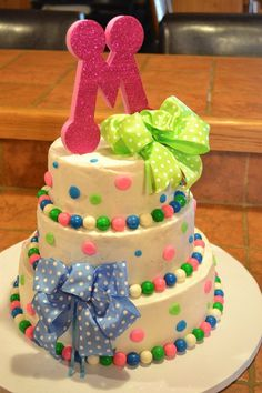 cute - instead of using fondant - could decorate using sixlets which come in many colors including pastels