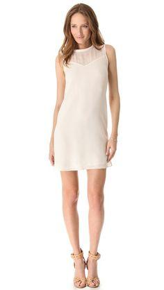 Rebecca Taylor Classic Silk Shift Dress...fore the bridesmaids?