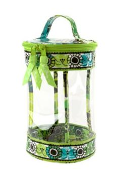 Vera Bradley- Clear Lotion Bag in Lime's Up (24.00). Perfect for traveling so the shampoos and bottles don't leak on everything!