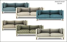 SAMARIUM LOVESEAT• Mesh by wondymoon  • Originally converted to sims 4 by mio  • Sims 2 recolors by caro-chris creations  DOWNLOAD