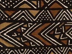 Mali bogolan Ethnic Patterns, Textile Patterns, Textile Design, African Textiles, African Fabric, Afrique Art, African Crafts, African Design, Tribal Art