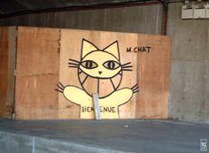 Gatos colgados por Chris Marker (2004).