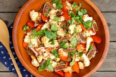 Try This Amazing Moroccan-Spiced Cauliflower & Carrot Salad