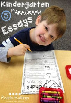 Turn Kindergarten Writing into Kindergarten Essays - Bonnie Kathryn