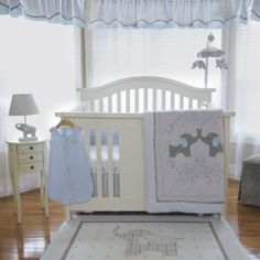 Dumbo Nursery - Elephant Jubilee 5 Piece Baby Crib Bedding Set by Nurture Imagination Nurture Imagination http://smile.amazon.com/dp/B00DQ9W500/ref=cm_sw_r_pi_dp_RKpUtb15AGJM6M1T