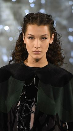 Bella Hadid walks at Paris Couture Fashion Week. See all the best beauty and hair inspiration straight from the runways.
