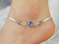 Hey, I found this really awesome Etsy listing at https://www.etsy.com/no-en/listing/226169135/anklet-ankle-bracelet-light-blue-disco