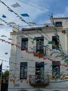 Fiesta Mayor en #calellapalafrugell