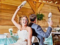 Hochzeitsspiele: Passt der Topf auf den Deckel?