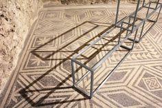 Primo piano, 2013 Acciaio e acciaio inox 92 × 28 × 240/300 cm  Installazione alla Casa Romana, Spoleto Piano, Home, Cousins, Pianos