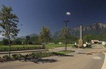 Acceso a Valle de Cristal. Carretera Nacional, Monterrey, NL. Golf Courses, High Road, Crystals
