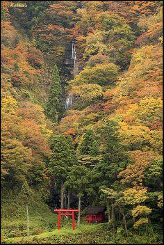 Shira-ito waterfall, Japan