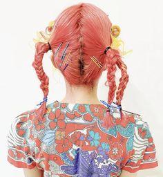 Dye My Hair, New Hair, Visual Kei, Hair Inspo, Hair Inspiration, Hair Reference, Aesthetic Hair, Rainbow Hair, Pretty Hairstyles