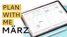 DIGITAL PLAN WITH ME | März 2020 | Deutsch #digitalplanwithme Digital Planning
