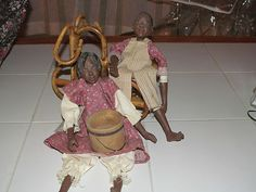 2 Daddy's Long Legs /Dolls/ Josie and Cho Cho/with Certification/ $ 189