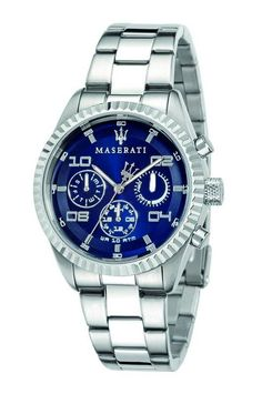 The unmistakable marriage of style and sporting flair that distinguishes the Maserati brand also characterizes the official watches that they create; Diesel Watches For Men, Sport Watches, Elegant Watches, Beautiful Watches, Luxury Watches, Rolex Watches, Wrist Watches, Apple Watch Fashion, Rose Gold Apple Watch