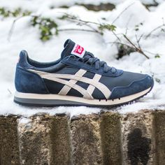 Onitsuka Tiger Dualio Indian Ink/White