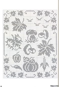 Filet Crochet Charts, Crochet Cross, Knitting Charts, Crochet Motif, Crochet Doilies, Cross Stitching, Cross Stitch Embroidery, Cross Stitch Designs, Cross Stitch Patterns