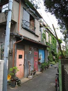 Tokyo back-street