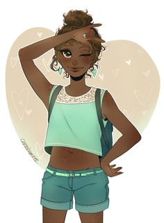 Dark Skin Anime Characters and Other Goodies