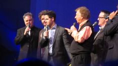 Gaither Vocal Band - Swing Down Chariot (LIVE) They are cracking up at Wes on this clip. :)