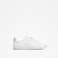 Image 2 of LACE-UP PLIMSOLLS from Zara