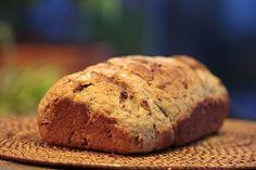 Pão integral com aveia e melado