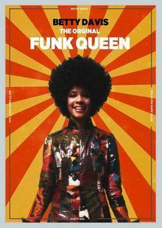 Betty Davis Singer, Afro, 70s Funk, Blues, Jazz, Women Of Rock, Soul Funk, Shades Of Black, 50 Shades