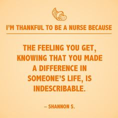 View 15 reasons to be thankful to be a nurse this season!