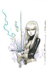 Magik by Olivier Coipel ✤    CHARACTER DESIGN REFERENCES   キャラクターデザイン   çizgi film • Find more at https://www.facebook.com/CharacterDesignReferences & http://www.pinterest.com/characterdesigh if you're looking for: #grinisti #komiks #banda #desenhada #komik #nakakatawa #dessin #anime #komisch #manga #bande #dessinee #BD #historieta #sketch #strip #fumetto #settei #fumetti #manhwa #koominen #cartoni #animati #comic #komikus #komikss #cartoon    ✤