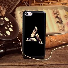 Hot sale golden assassins creed symbol Pattern DIY TPU/PC Material Mobile Protection Cover Cases for iPhone 4S 5 5S 5SE 6S 6S 6P