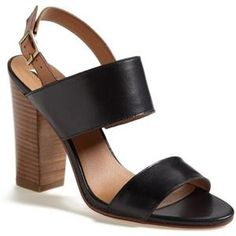 the perfect block heel sandal, at a stupidly low price {40% now during Nordstrom's Half Yearly Sale!!}