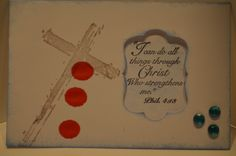 CHRISTIAN CROSS only. RETIRED  Sells for 11.99  Sold separately are the other items used in the examples. Made by Art Impressions Rubber stamps. You can purchase all items in my ebay store: Pat's Rubber Stamps & Scrapbooks, Click on the picture & see the listing , or call me 423-357-4334 with order, We take PayPal. You get FREE SHIPPING ON PHONE ORDERS of $30.00 or more. If it says sold I have more. Use my search engine to find the items you are interested in