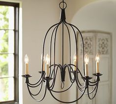 Armonk 6-arm Indoor/outdoor Chandelier
