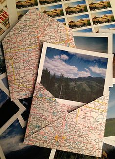 i never buy envelopes and i never use the maps i have. so this is a good idea :)