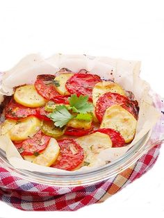 Legume gratinate (grilled vegetables| recipe in Romanian)