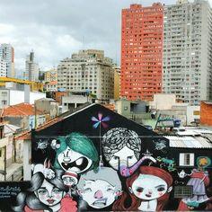 Frasão Feik - Cadu Mendonça - Tikka Meszaros - Nickaliveone - Vermelho Steam, in Baixada do Glicério, São Paulo, Brazil, 2016