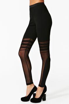 #Lucia Mesh Leggings  Leggings #2dayslook #Leggings #anoukblokker  www.2dayslook.com
