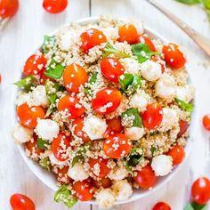 """929 Gostos, 6 Comentários - Casal Misterio (@casalmisterio) no Instagram: """"5 deliciosos, rápidos e saudáveis almoços com quinoa que pode levar para o trabalho. Receitas…"""""""