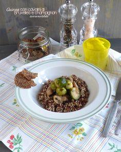 quinoa con verdure #senzaglutine e #senzalattosio