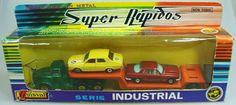 Guisval 1/32 Porte autos Mercedes 350 & r12 1971/72