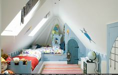 In Alfie's Room: attic bedroom