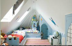 In Alfie's Room: attic bedroom