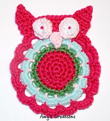 Enjoy this Cute Owl Crochet Coaster Pattern! I think Owls are so cute to have around the house and fun to make!    My Crochet You ...
