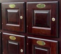 American Cigar Cabinets - close-up