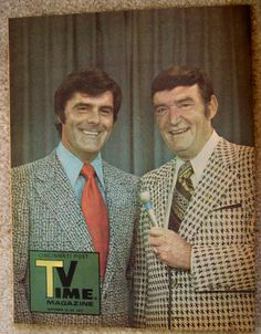 WLW-T TV 5 BOB BRAUN & PAUL DIXON on the cover of CINCINNATI POST TV TIME magazine September 16, 1973 by CINCINNATI TV & RADIO HISTORY, via Flickr